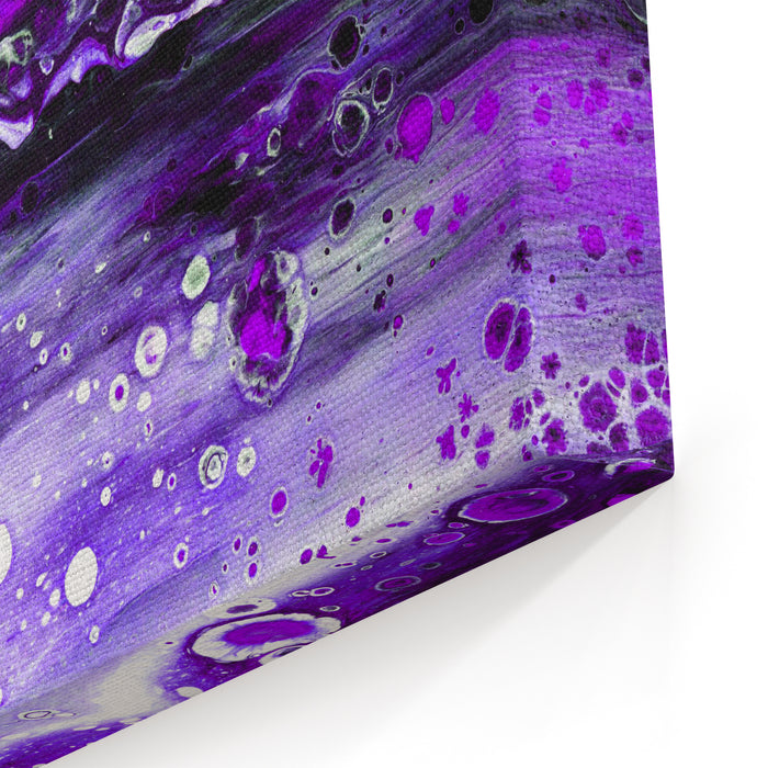 Violet Marbling Acrylic Fluid Painting Fantazy Abstract Color Backgroundraster Illustration For Textile Wrapping Paper Interior Design Canvas Wall