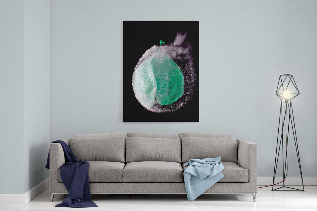 Bursting Balloon Canvas Wall Art Print