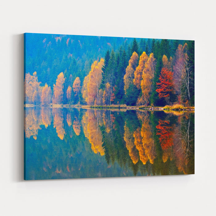 Autumn Landscape Canvas Wall Art Print