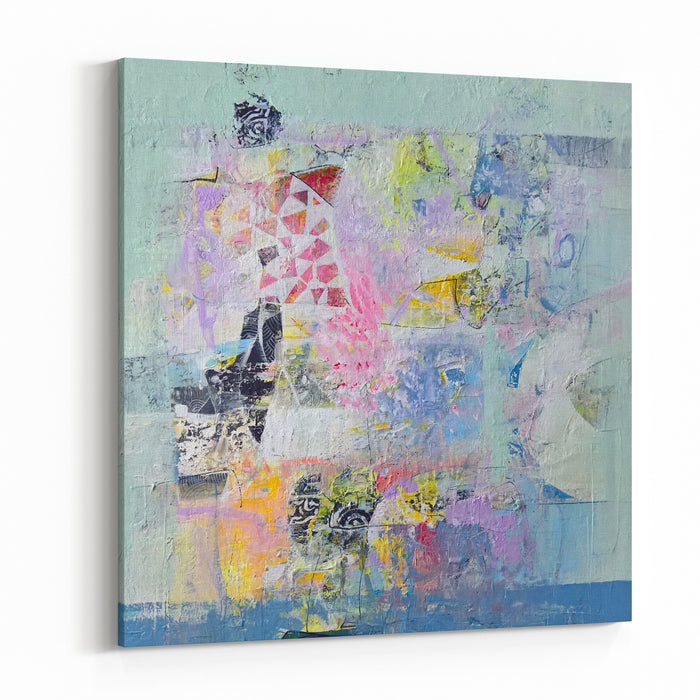Contemporary Abstract Fine Art Work Canvas Wall Art Print