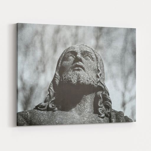 Detail Of The Tombstone Of Jesus Christ Canvas Wall Art Print