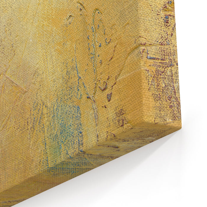 Textured Abstract Painting Hand Painted Background Canvas Wall Art Print