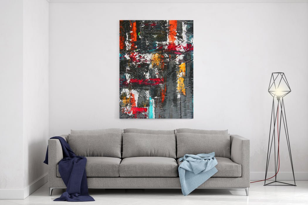 Abstract Artwork Canvas Wall Art Print