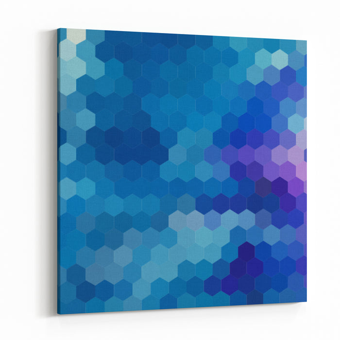 Abstract Background For Design Canvas Wall Art Print