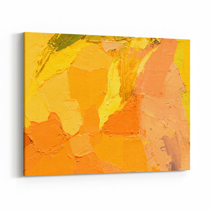 Summer Background Oil Painting On Canvas Color Texture Fragment Of Artwork For Print Spots Of Paint Brushstrokes Of Bright Paint Modern Art Contemporary Art For Interior Colorful Canvas Canvas Wall Art Print