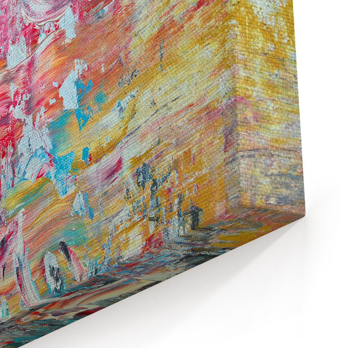 Contemporary Modern Abstract Painting Canvas Wall Art Print