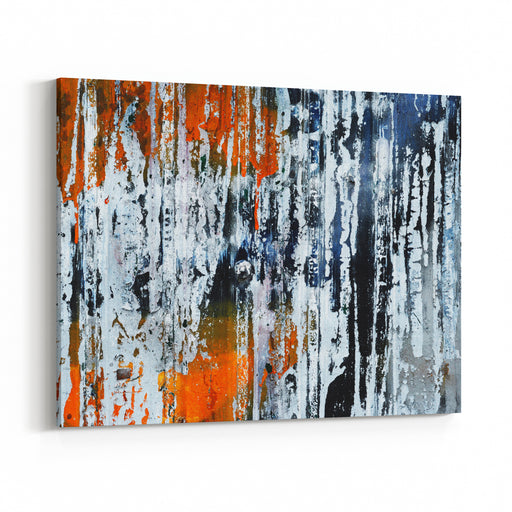 Painting On Zinc Canvas Wall Art Print