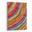 Stripe Pattern  Paint Oil Colors On Canvas Canvas Wall Art Print