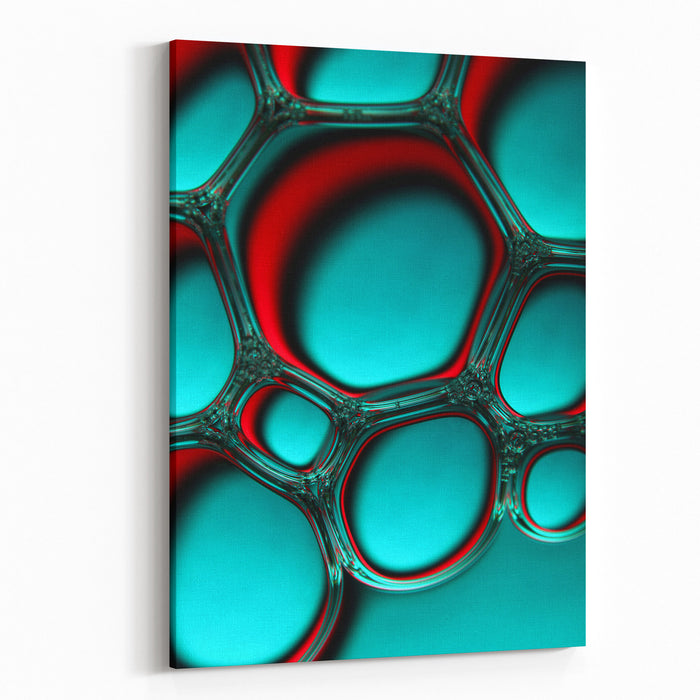 Bubbles Canvas Wall Art Print