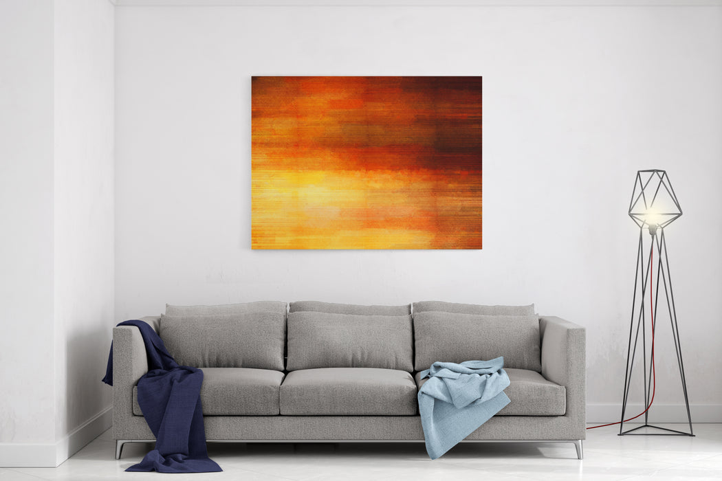 Digital Structure Of Painting Color Water Color Abstract Grunge Background Canvas Wall Art Print