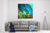 Abstract Chaotic Painting By Oil On Canvas, Illustration, Background Canvas Wall Art Print