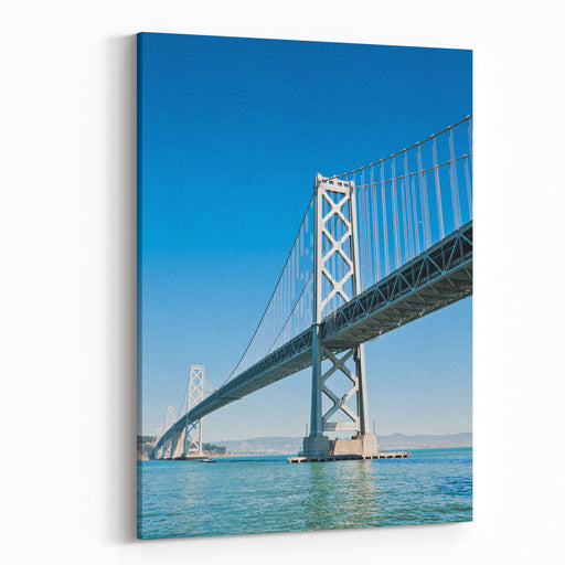 San Francisco Bay Bridge, California,USA Canvas Wall Art Print