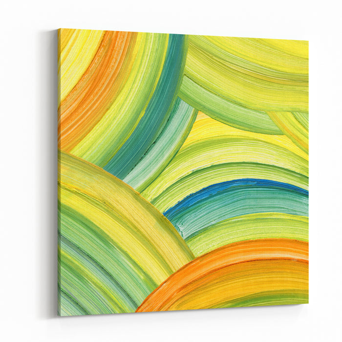 Abstract Acrylic Painting Background Canvas Wall Art Print