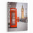 A Photography Of A Red Phone Box In London UK Canvas Wall Art Print