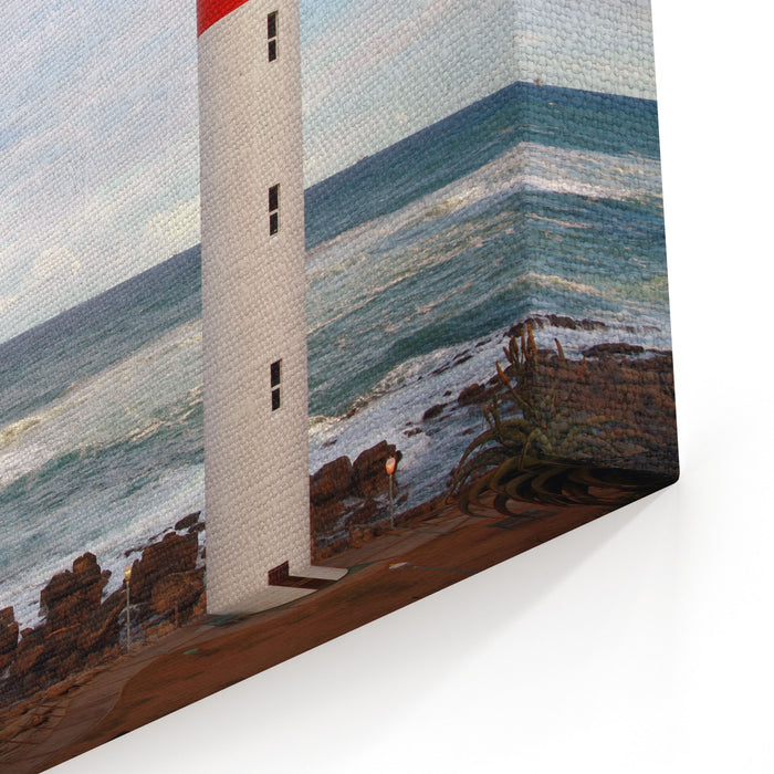 Lighthouse Umhlanga South Africa Canvas Wall Art Print