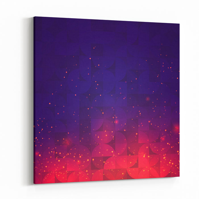 Abstract Background For Design Vector Canvas Wall Art Print