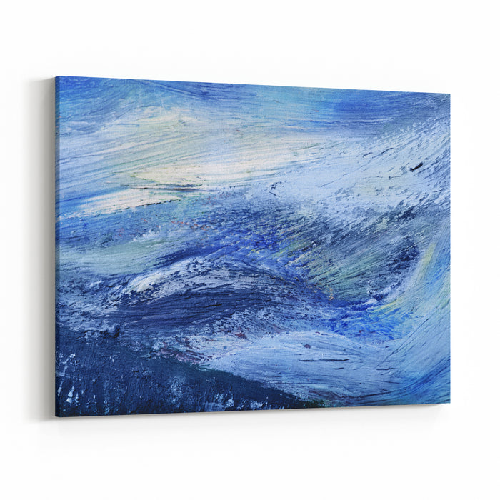 Oil Painting Texture Abstract Background Canvas Wall Art Print