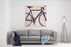 Bicycle Canvas Wall Art Print