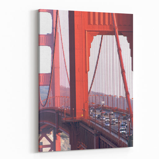California, San Francisco, Golden Gate Bridge Canvas Wall Art Print