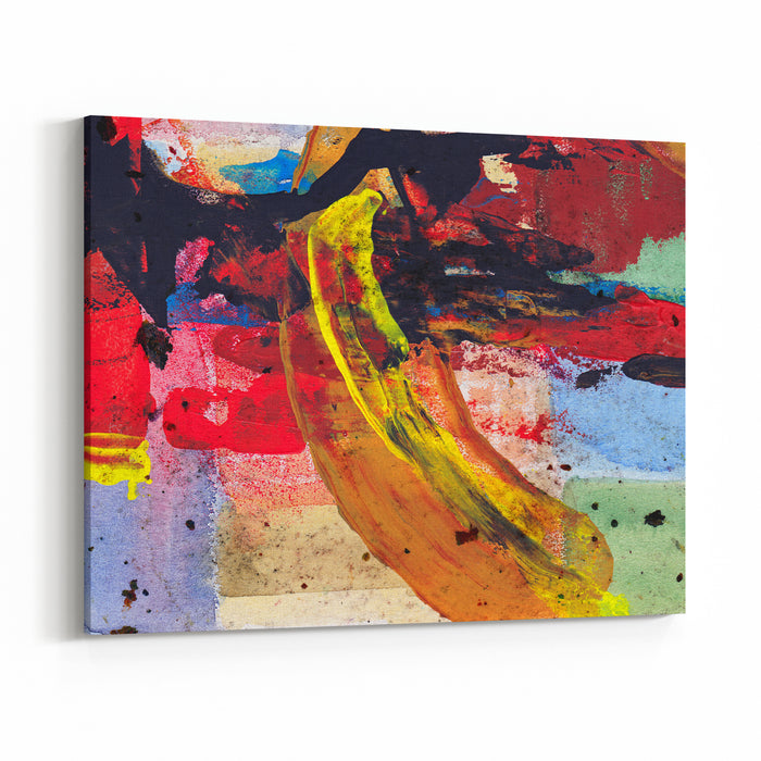 Abstract Painting Canvas Wall Art Print