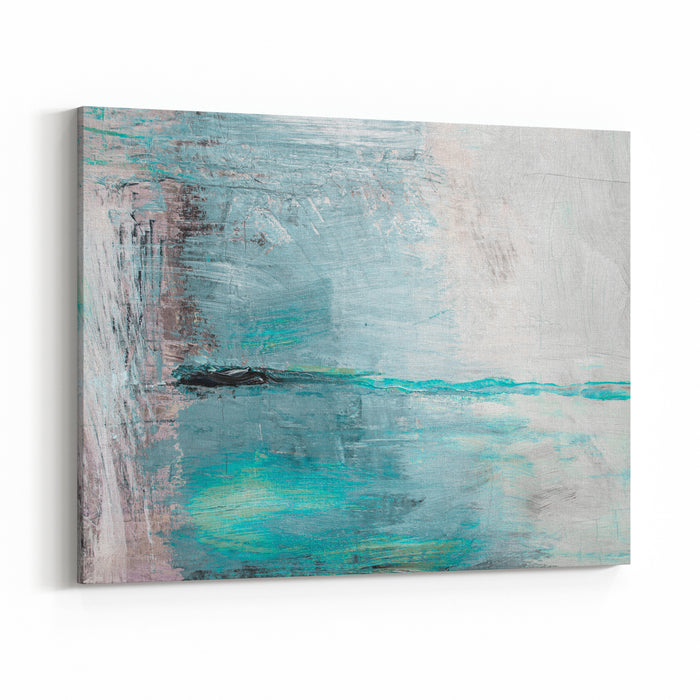 Oil Painting Abstract Texture Background Canvas Wall Art Print