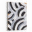 Zebra Pattern Painting Abstract Background Canvas Wall Art Print