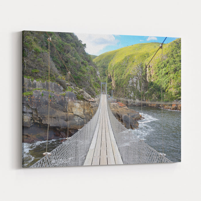 Landscape Of Tsitsikamma National Park, Garden Route, South Africa Canvas Wall Art Print