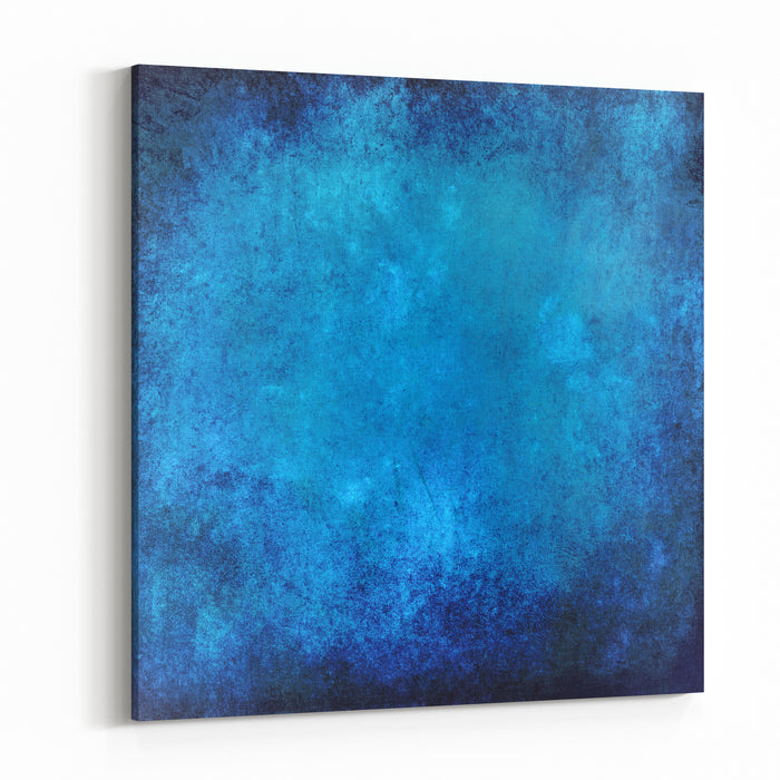 Blue Texture For Abstract Background Canvas Wall Art Print