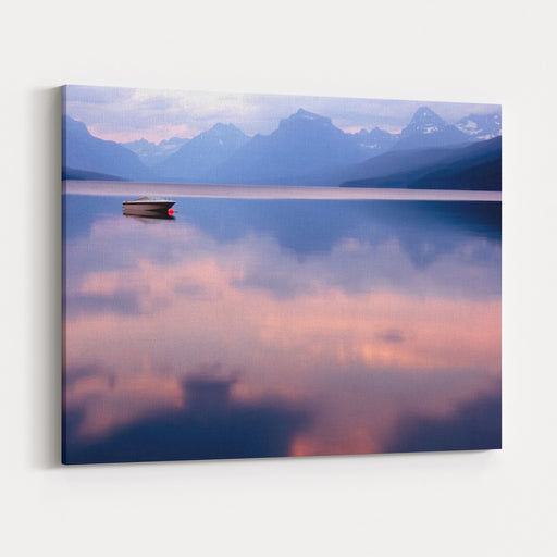 Lake McDonald Canvas Wall Art Print