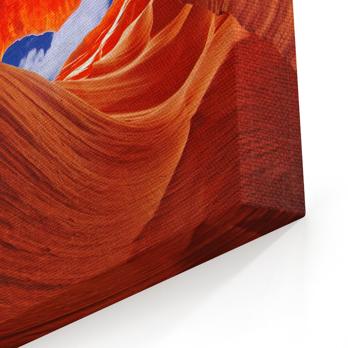Antelope Canyon, Arizona, USA Lower Antelope Canyon, Arizona, USA Canvas Wall Art Print