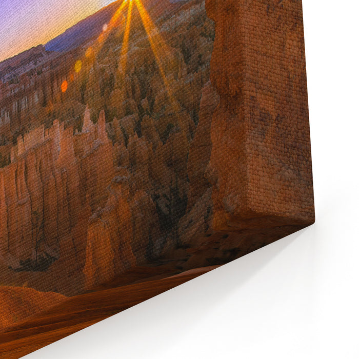 Bryce Canyon Sunrise Canvas Wall Art Print