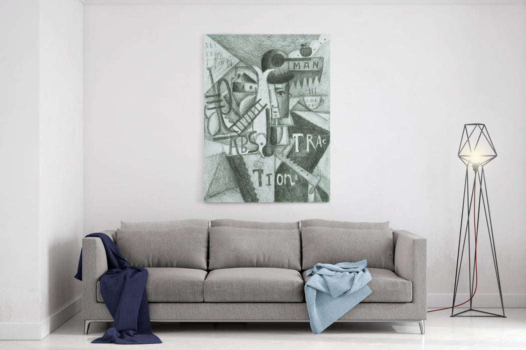 Abstraction Canvas Wall Art Print