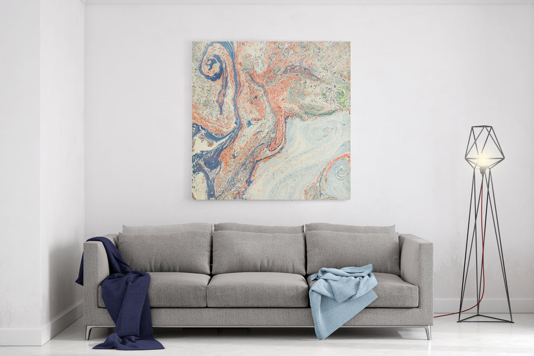 Abstract Artwork Background Painting Canvas Wall Art Print