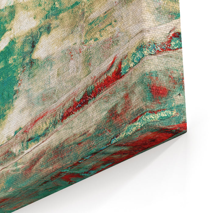Beautiful Colorful Abstract Oil Painting Canvas Wall Art Print