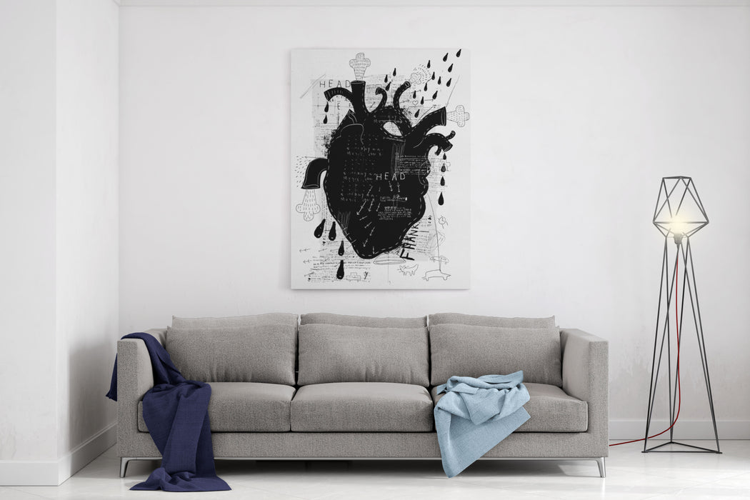 Image Of The Heart Canvas Wall Art Print