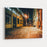 An Alley At Night, In Brooklyn, New York Canvas Wall Art Print