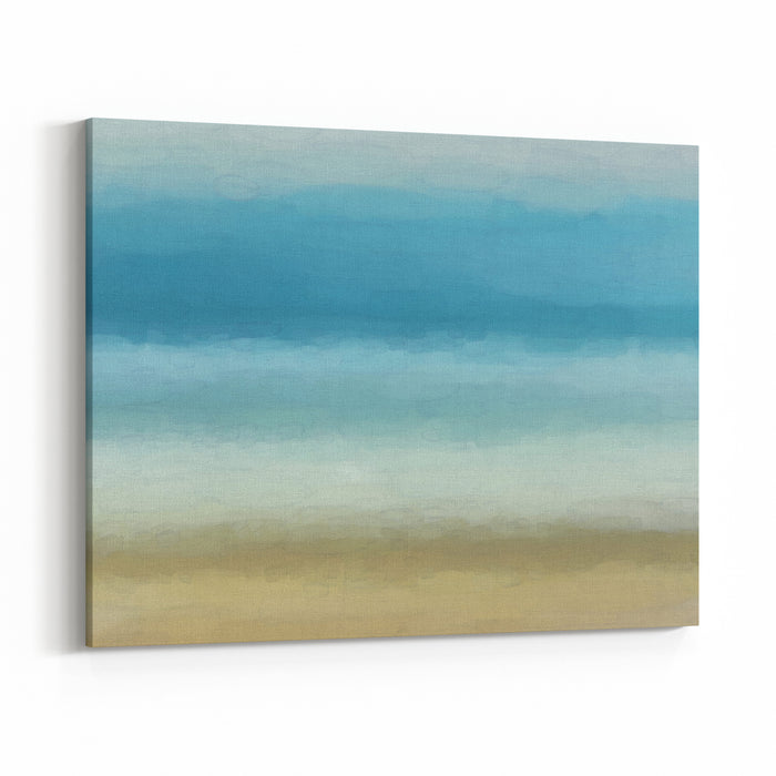 Digital Structure Of Painting Background Watercolor Canvas Wall Art Print