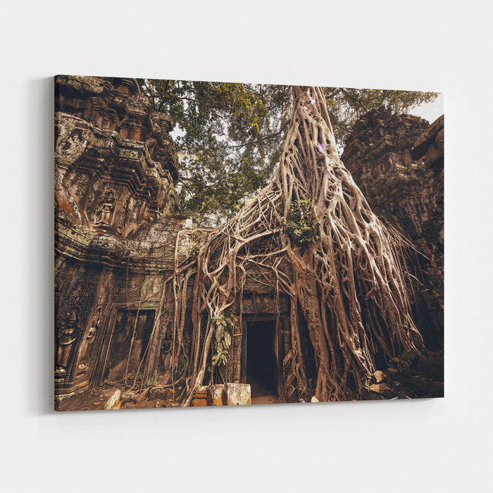 Angkor Wat Temple In Siem Reap, Cambodia Canvas Wall Art Print