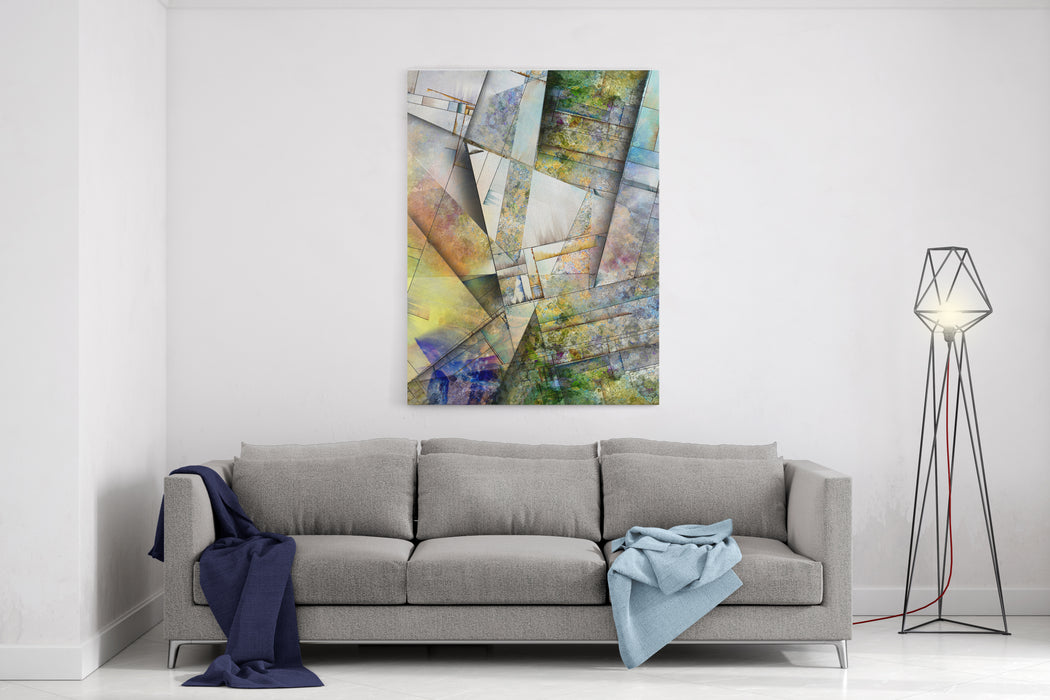 Abstract Canvas Wall Art Print