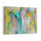 Old Colourful Abstract Painting Canvas Wall Art Print