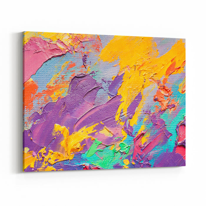 Abstract Art Wall Painting