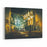 Beautiful Painting Showing Interior View Of A Church And Dramatic Light Canvas Wall Art Print