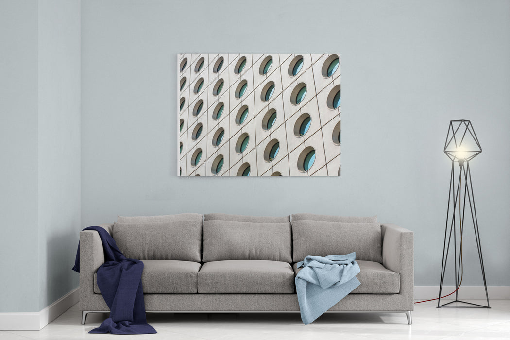 Architectural Abstracts Canvas Wall Art Print
