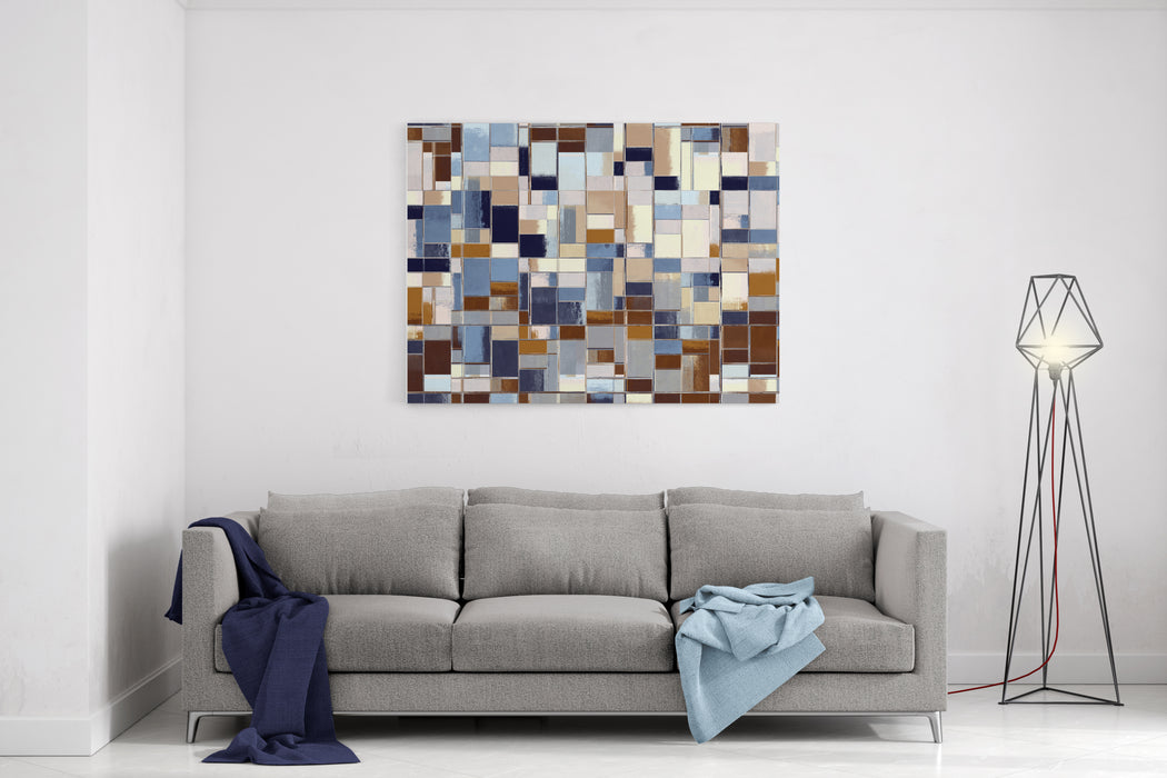 Abstract Painting Abstract Background Grunge Wall Canvas Wall Art Print