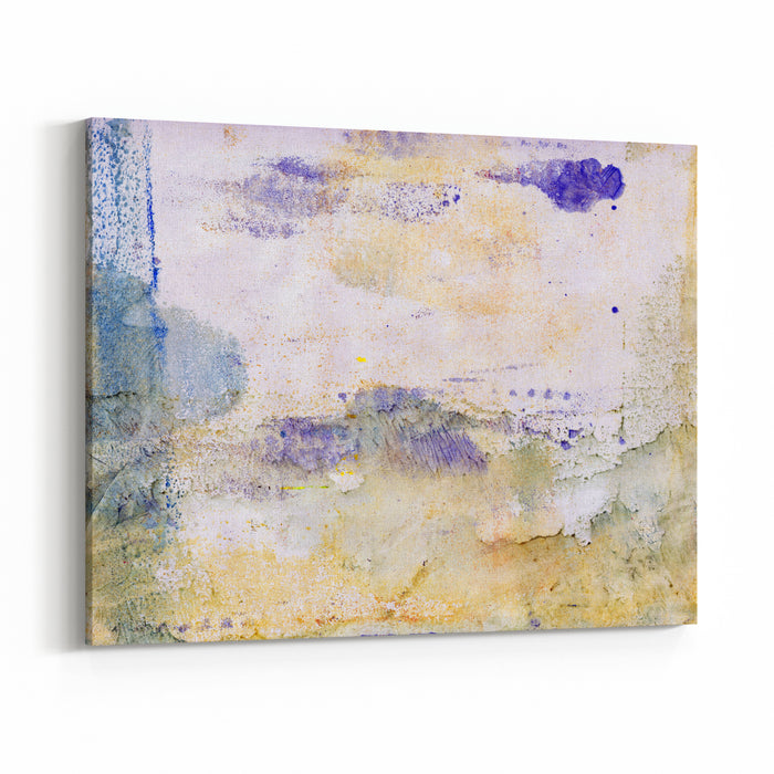 Big Size, Large, Format Abstract Painting, Handmade, Stone, Marble Textured Colorful Background Mixed Media Canvas Wall Art Print