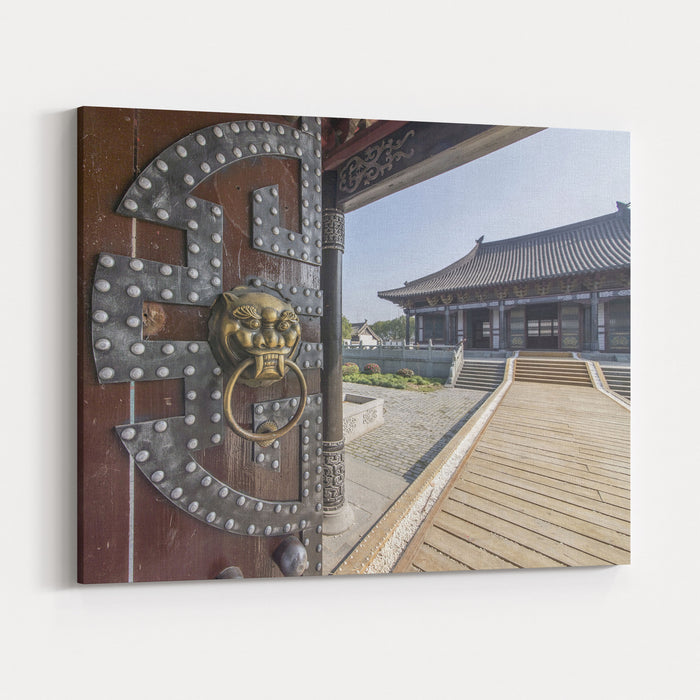 China Palace Canvas Wall Art Print