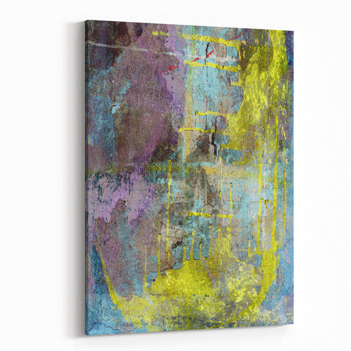 Colorful Textured Background Canvas Wall Art Print