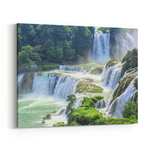 Detian Waterfall Canvas Wall Art Print
