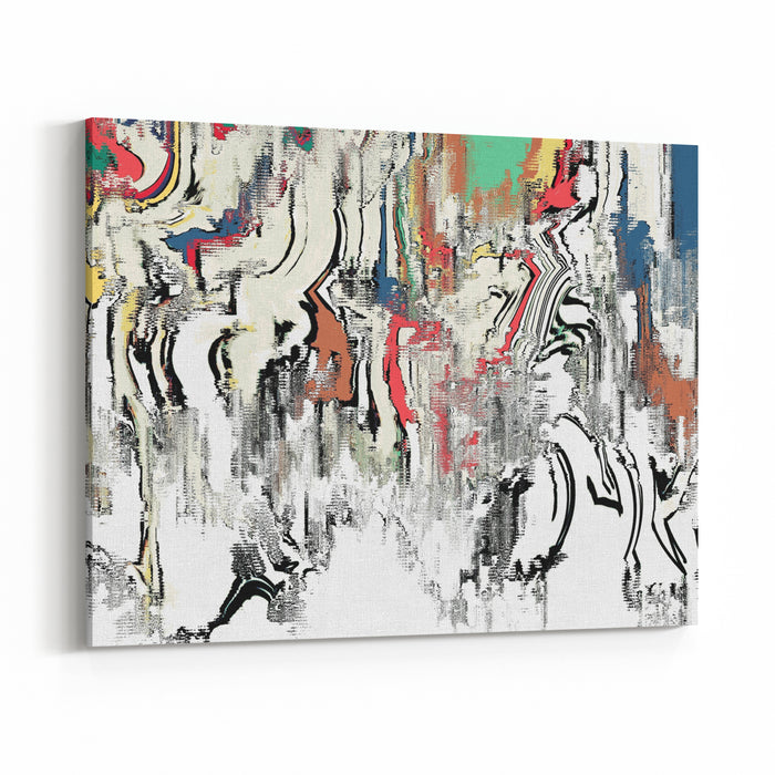 Canvas Painting Texture Canvas Wall Art Print