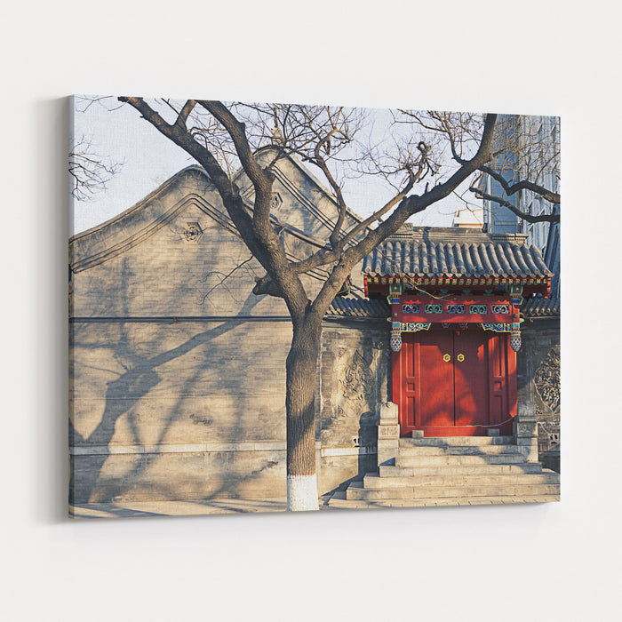 Beijing Canvas Wall Art Print